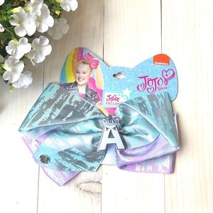 Justice JoJo Unicorn Pastel Shimmer A Hair Bow NWT